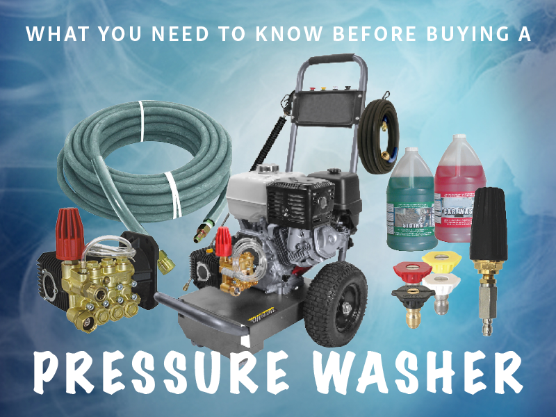 What You Need to Know Before Buying a Pressure Washer