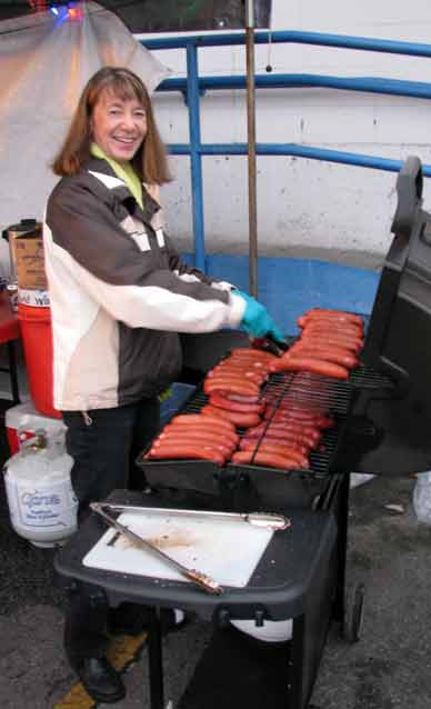 "The ""K"" in KMS cooking smokies"