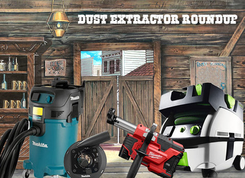 dust extractors in a dusty old west saloon
