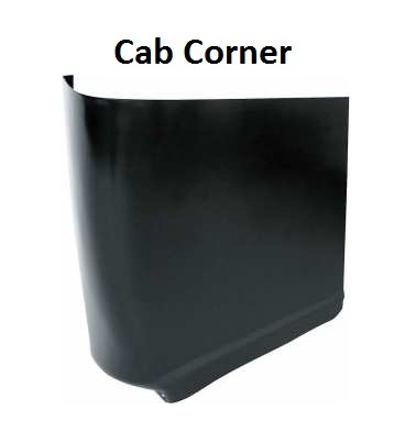 outer rear cab corner