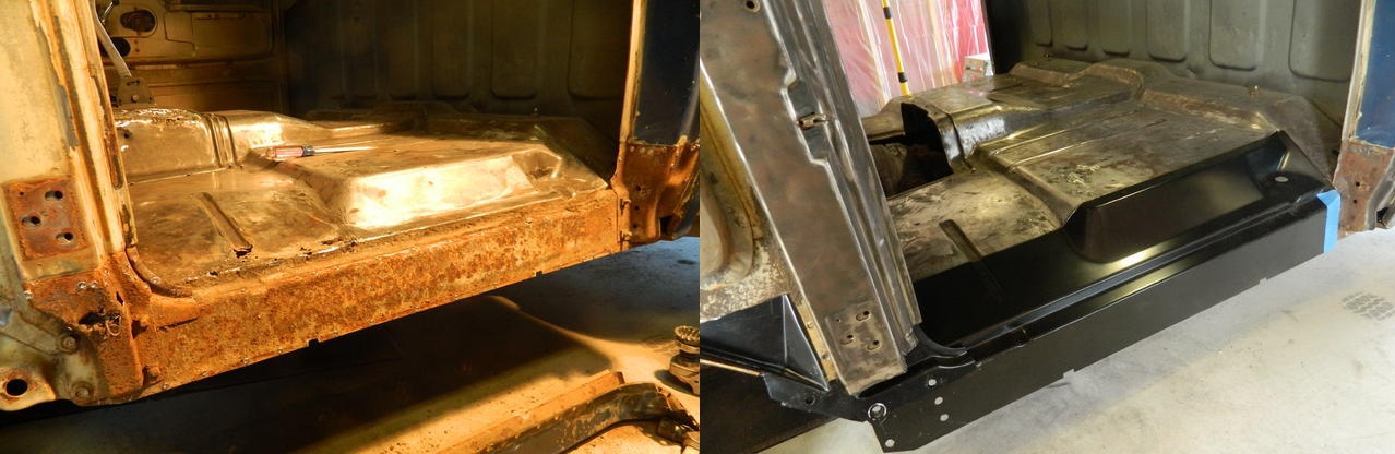 Replacing Cab Supports and Rocker Panels on a 1960-66 GM