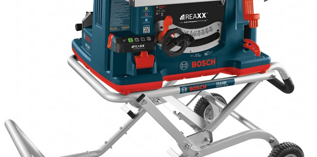 Bosch REAXX table saw