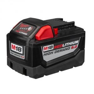 New Milwaukee Products: 9.0 Ah Battery