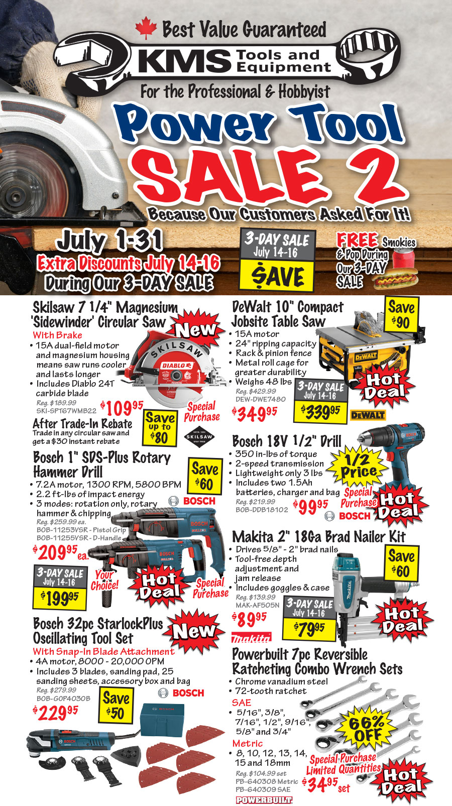 Power Tool Sale 2