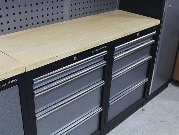 bynford garage storage system-drawers