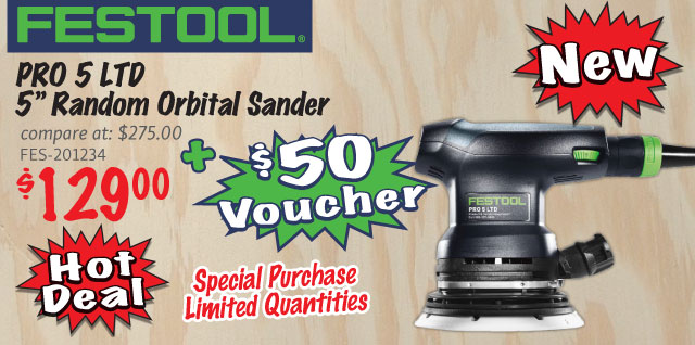 Festool PRO 5 LTD Amazing Limited Offer