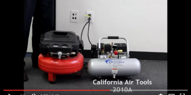 California Air Tools 2010A Ultra Quiet Air Compressor