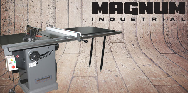 magnum industrial table saws