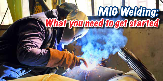 MIG welding getting started