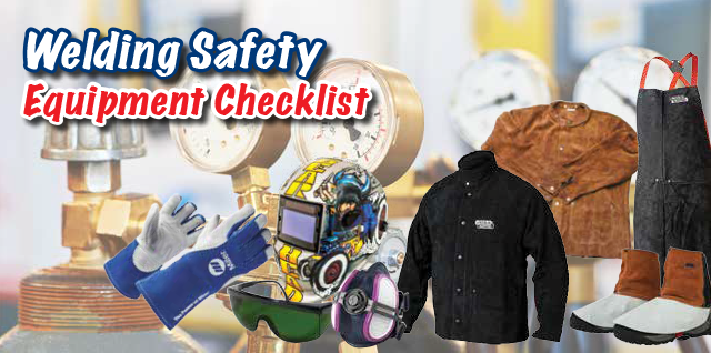 welding safety equipment checklist