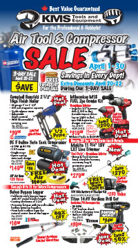 Air Tool & Compressor Sale