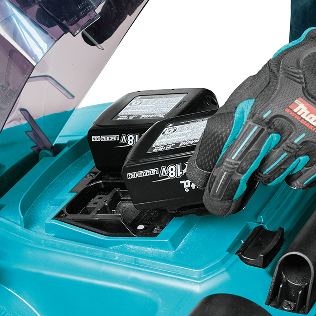 makita 36v lawn mower