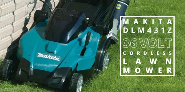 makita 36v lawn mower dlm431z