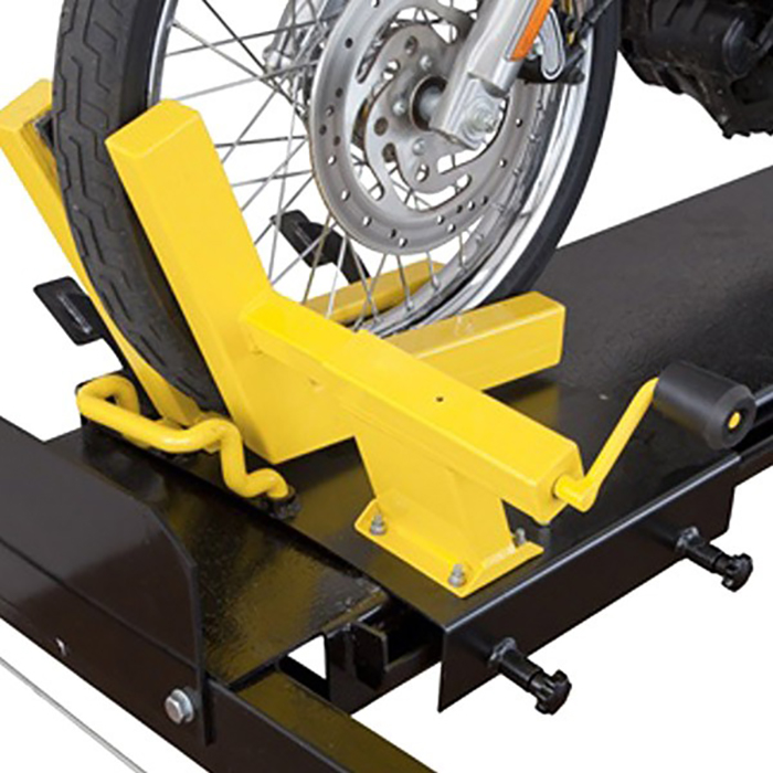 Dannmar car lifts motorcycle vise
