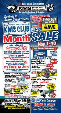 KMS Club Month Sale