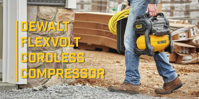 flexvolt cordless air compressor