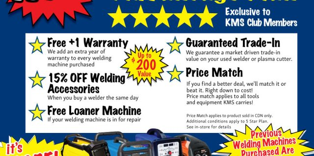 5 Star Welding Advantage Plan