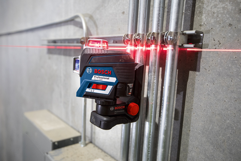 Bosch 360° Connected Three-Plane Leveling and Alignment Line Laser