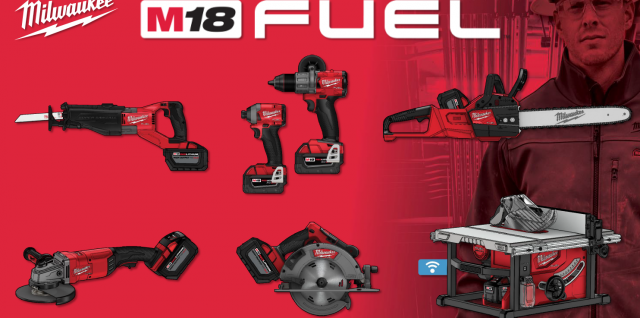 Milwaukee M18 FUEL 2018 Launch