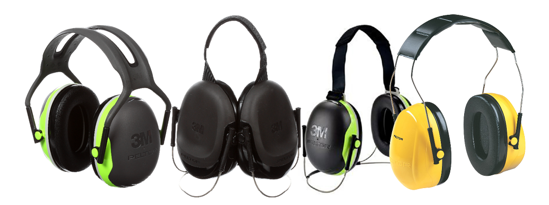 3m products: peltor earmuffs