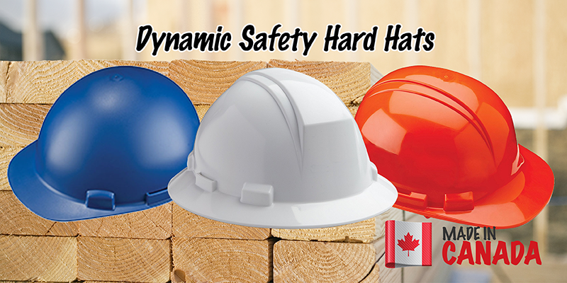made in canada-dynamic safety hard hats