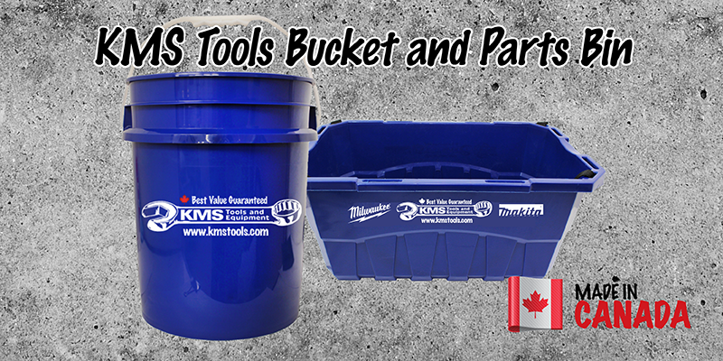 made in canada-kms tools bucket