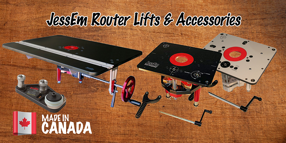 JessEm Router Lifts - Made in Canada