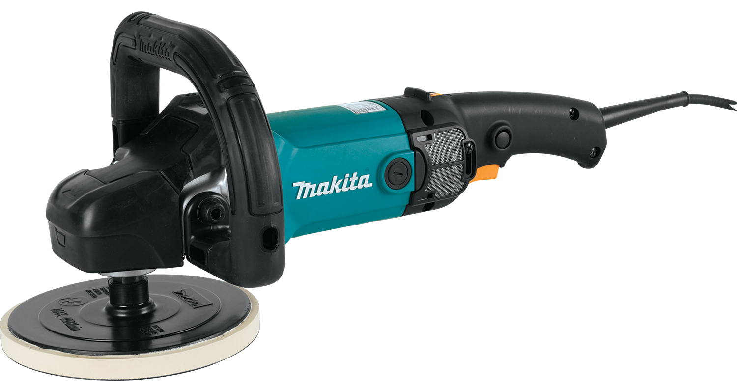 metal polishing-makita handheld polisher
