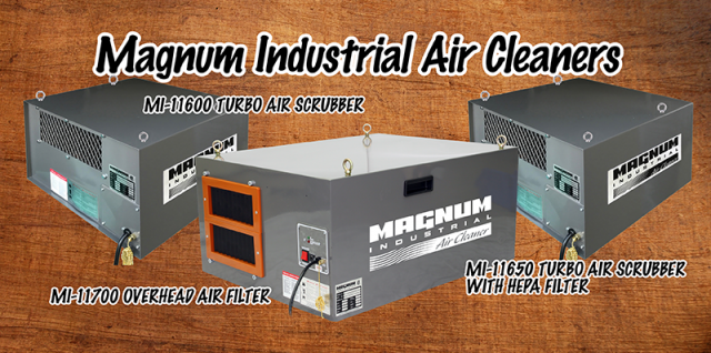 magnum industrial overhead air cleaners