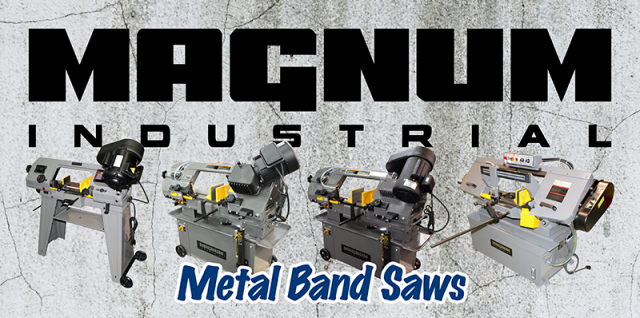 magnum industrial metal band saws
