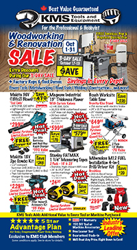 KMS Tools October 2019 Flyer