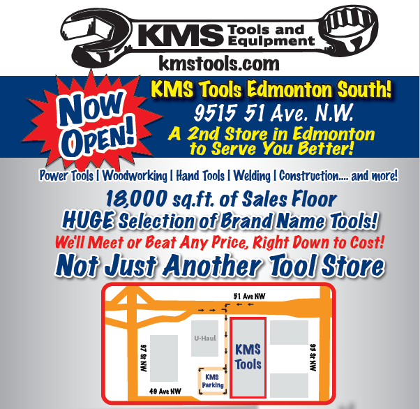 KMS Tools Edmonton South Now Open!